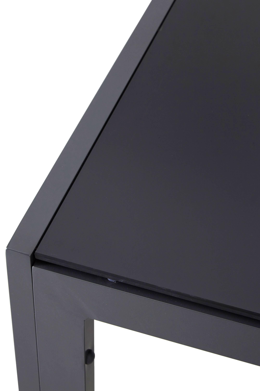 Zwarte Glazen Tuintafel.Sens Line Tuintafel Palermo 210x90 Cm