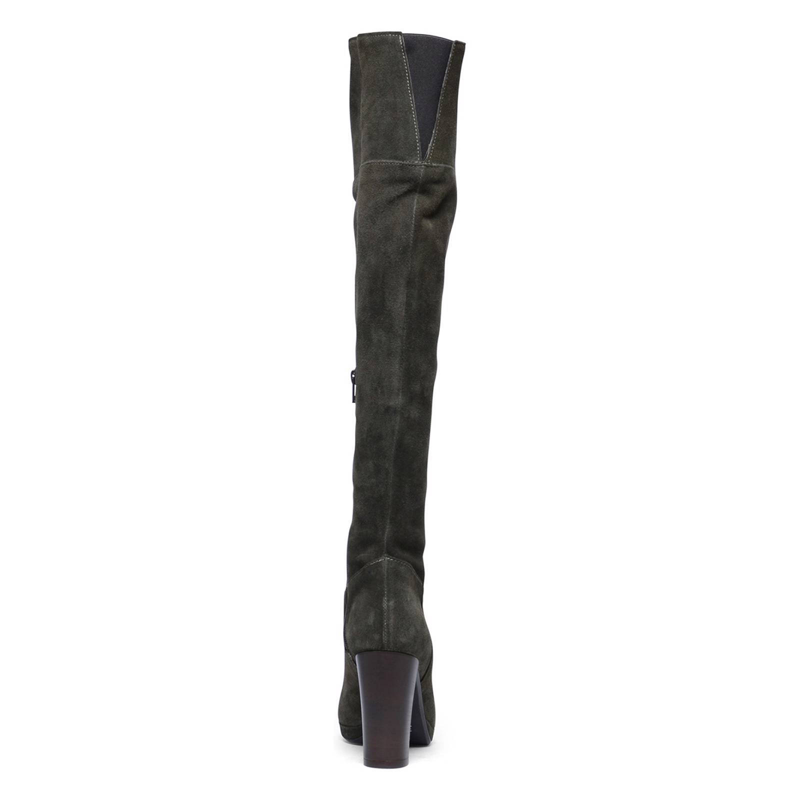 Manfield overknee laarzen | wehkamp