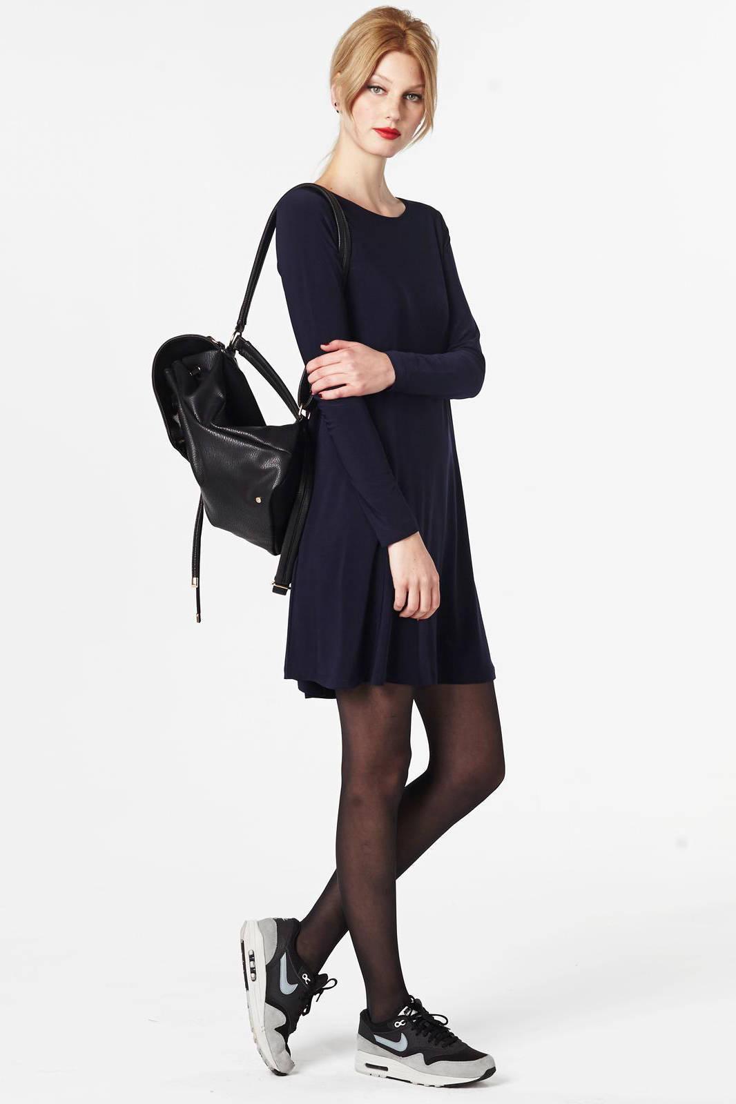 suede jurk wehkamp