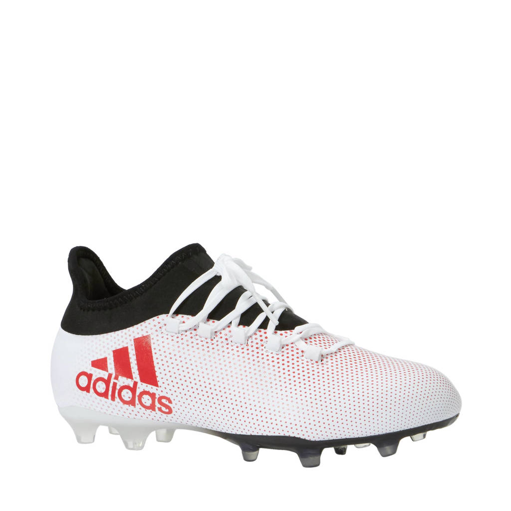 502f2ed7d09 adidas performance X 17.2 FG voetbalschoenen, Wit/zwart/rood