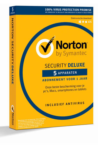 Security Deluxe 3.0 Nederlands (1 user/5 devices) (PC)