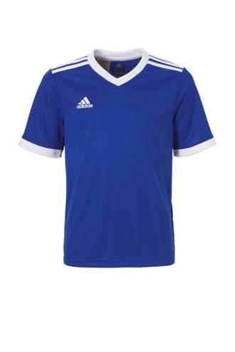 performance Junior  sport T-shirt Tabela blauw/wit