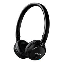 SHB6250 on-ear bluetooth koptelefoon zwart