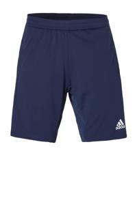 adidas   sportshort Con18 donkerblauw, Donkerblauw/wit
