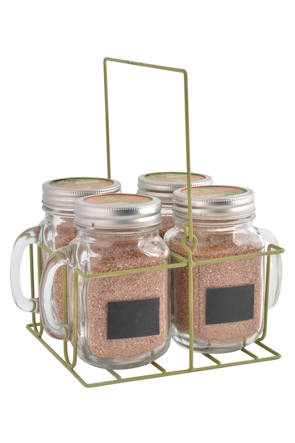 Esschert kweekset (incl. zaden), Transparant