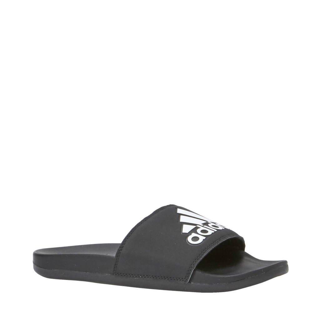 adidas Performance Adilette Comfort slippers zwart/wit, Zwart/wit