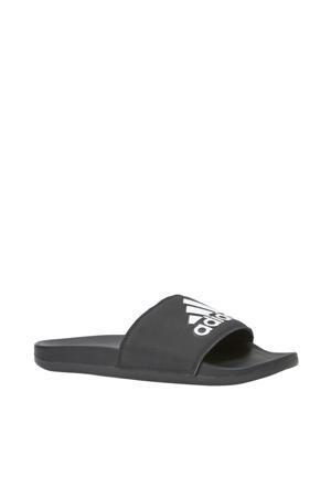 Adilette Comfort slippers zwart/wit