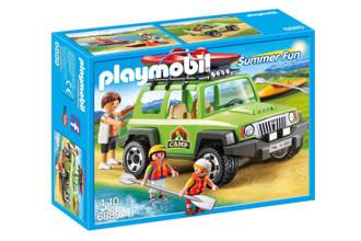 Summer Fun familieterreinwagen met kajaks 6889