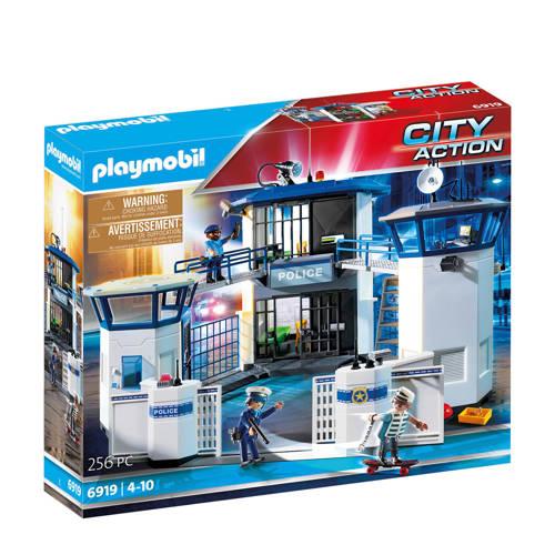 Politiebureau met gevangenis Playmobil (6919)