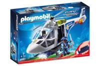 Playmobil City Action politiehelikopter met zoeklicht 6921