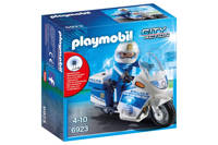 Playmobil City Action politiemotor 6923