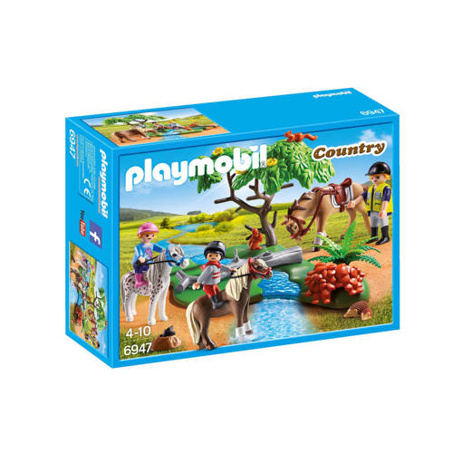 Playmobil pony rijles
