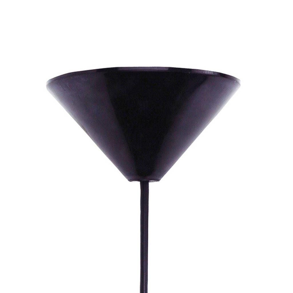home sweet home hanglamp (met gratis LED lamp), Zwart/wit