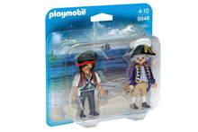 Duo Pack piraat en soldaat 6846