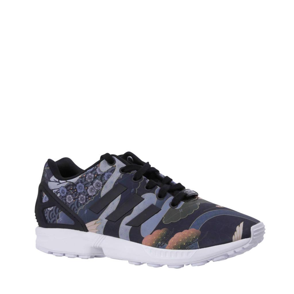 d98854589a3 adidas originals sneakers ZX Flux W, Zwart/wit