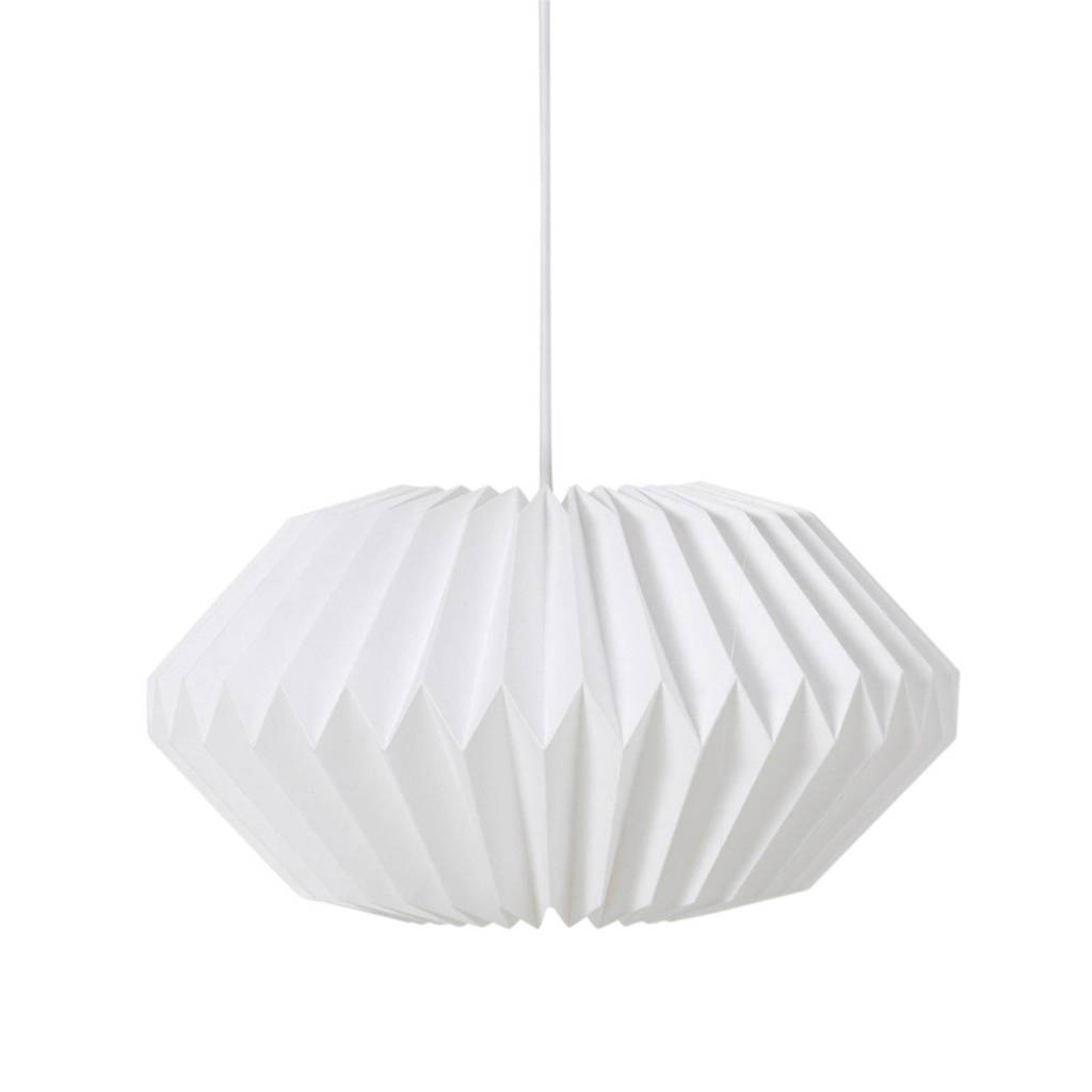 whkmp's own hanglamp (papier), Wit