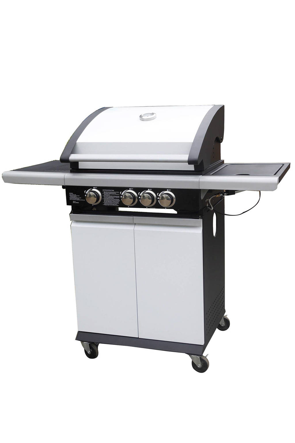 Patton Patio Chef 3+ gasbarbecue, Alpine White