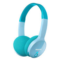 Philips SHK4000TL on-ear bluetooth kinder hoofdtelefoon blauw