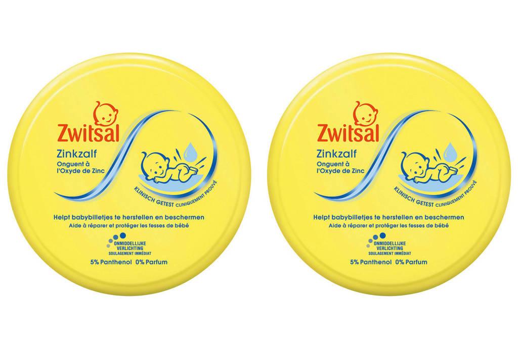 Zwitsal zinkzalf - 2x150 ml - baby, 2 x 150 ml