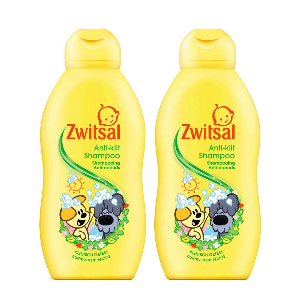 Zwitsal Woezel & Pip anti-klit shampoo - 2x200 ml - baby, 2 x 200 ml