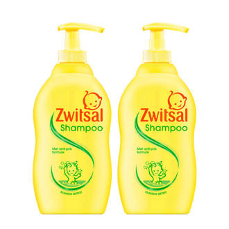 shampoo pomp - 2x400 ml - baby