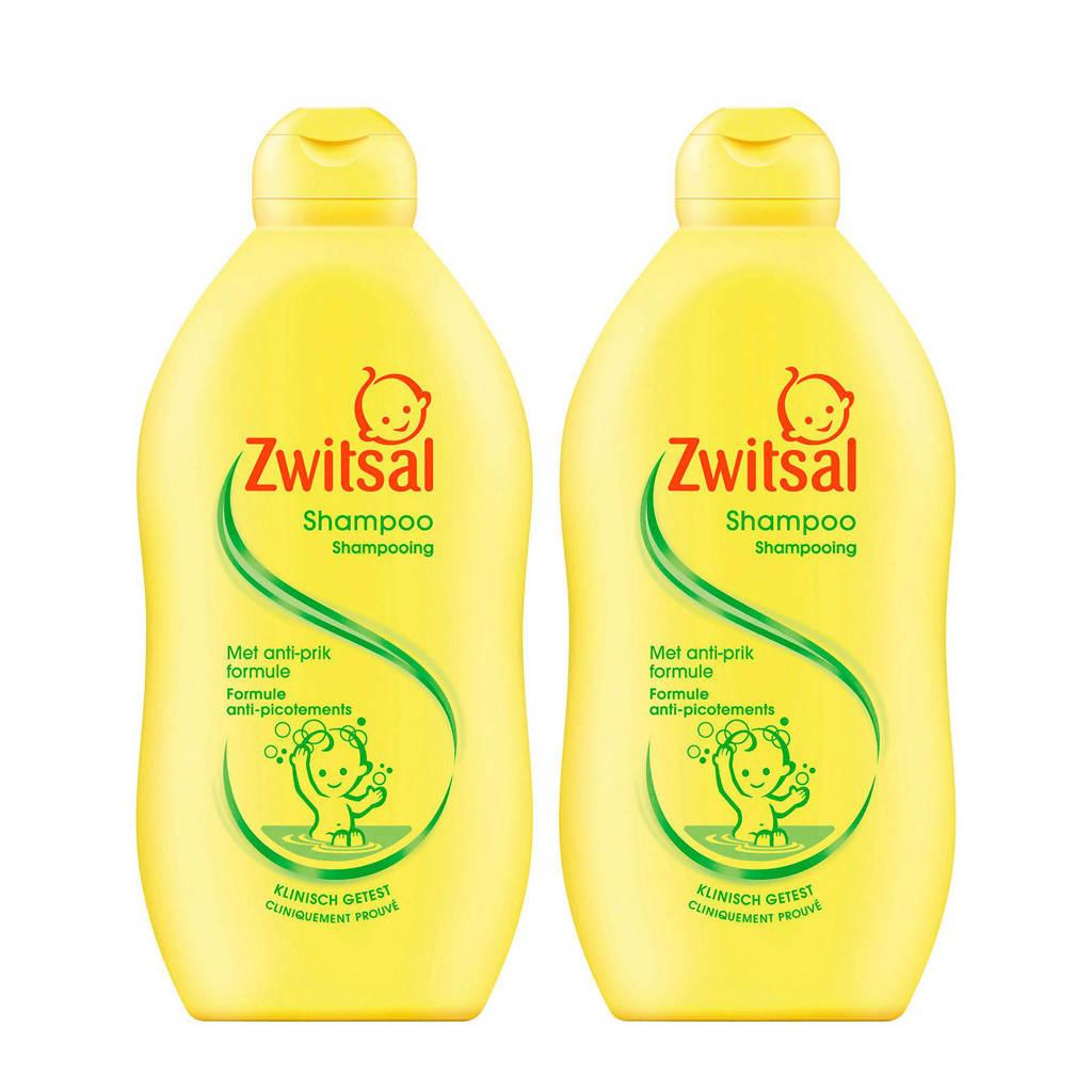 Zwitsal shampoo - 2x500 ml - baby, 2 x 500 ml