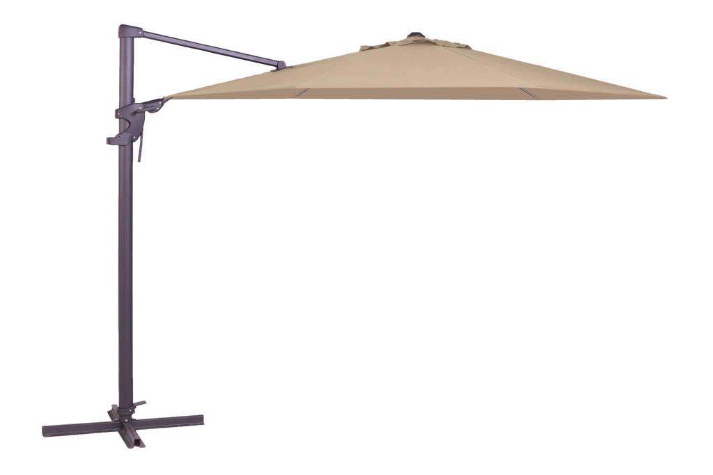 Madison parasol Monaco Flex (ø330 cm), Ecru