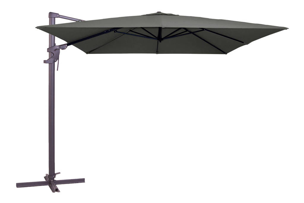 Madison parasol Monaco Flex (300x300 cm), Grijs