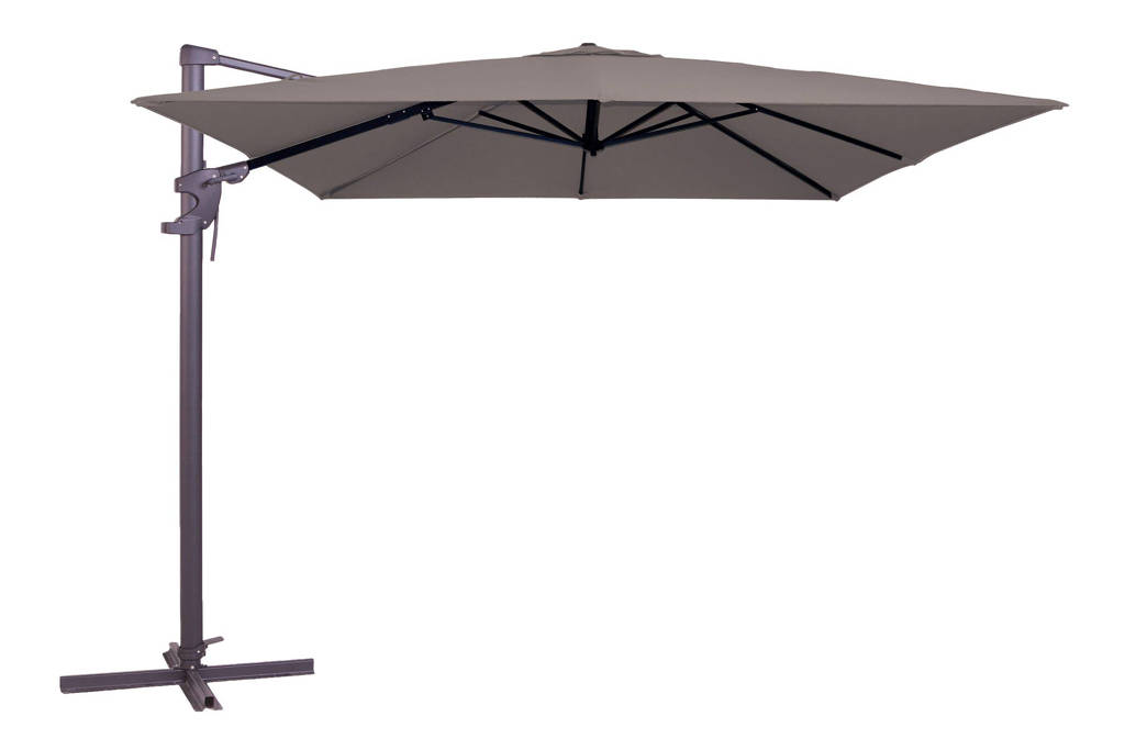 Madison parasol Monaco Flex (300x300 cm), Taupe