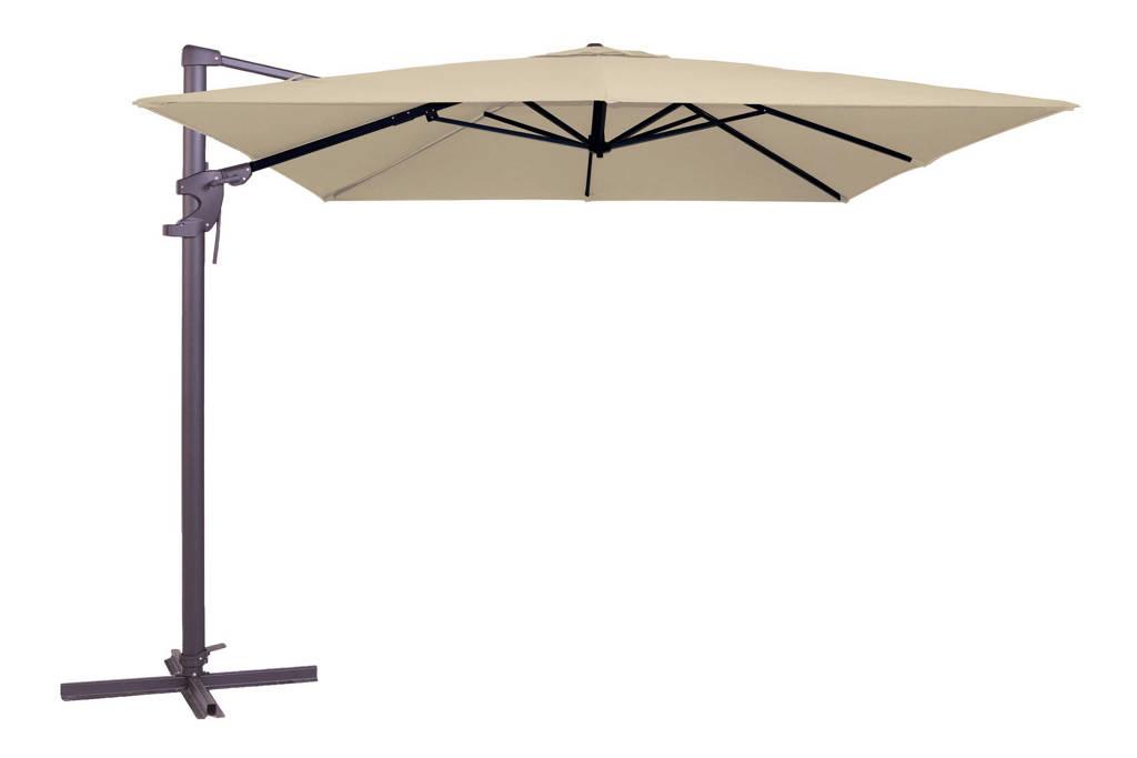 Madison parasol Monaco Flex (300x300 cm), Ecru