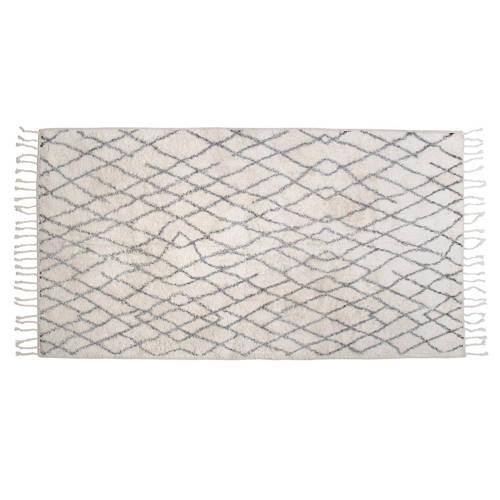 Hkliving Badmat Zwart-Wit 175 cm