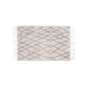 badmat (60x90 cm) Wit/zwart