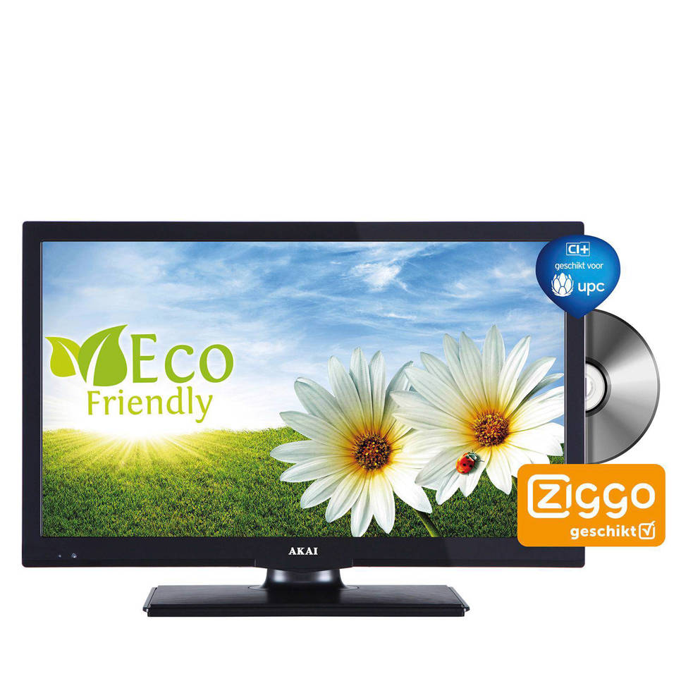Akai ALED2022BK LED tv/DVD combi | wehkamp
