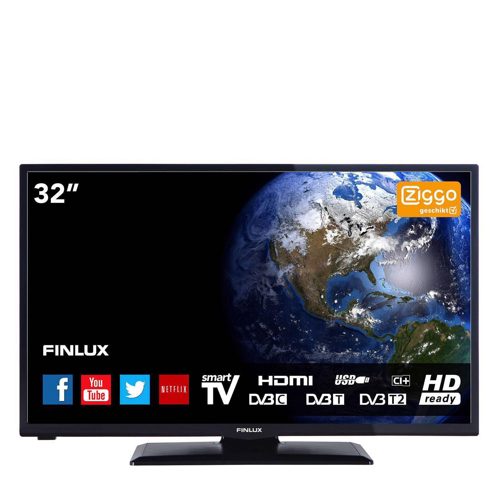Finlux FL3222smart Smart LED tv   wehkamp