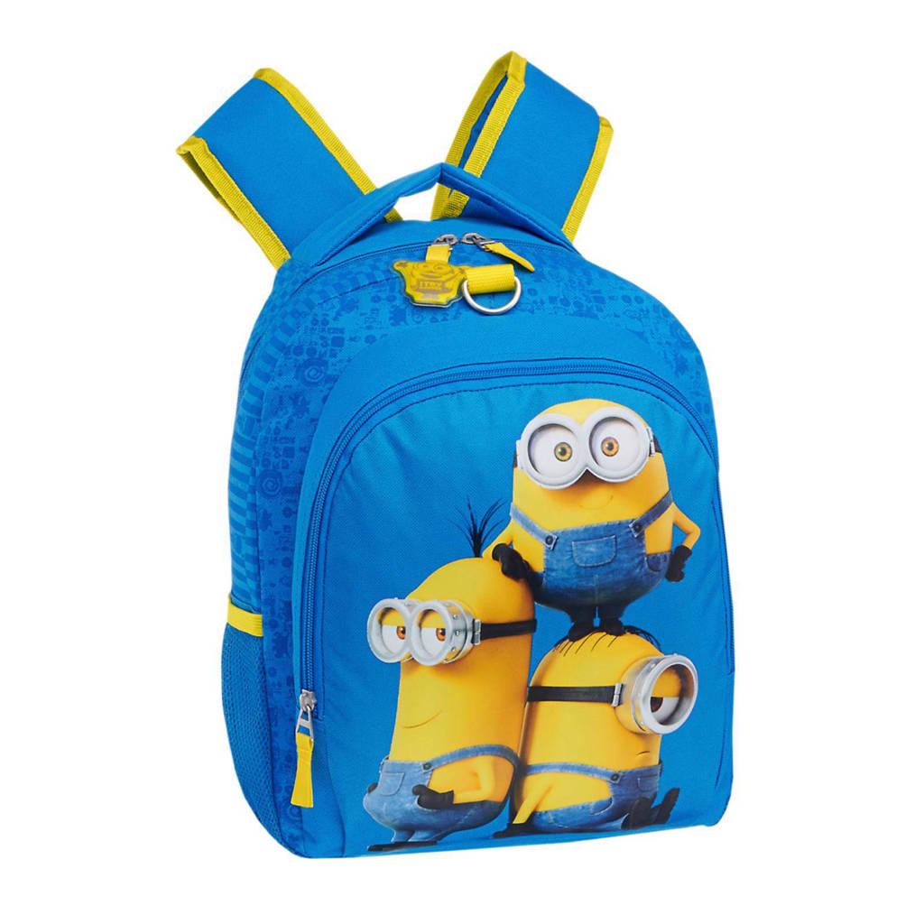 02b00dc0ade Minions rugzak, Blauw/geel