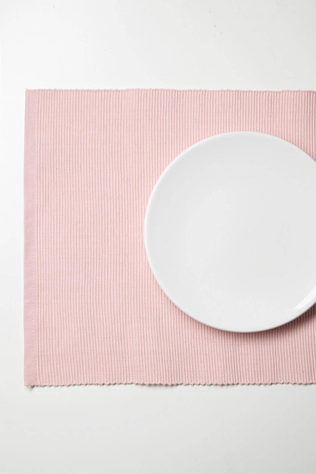 Mood collection placemat Tivoli (33x45 cm) (set van 4), Roze