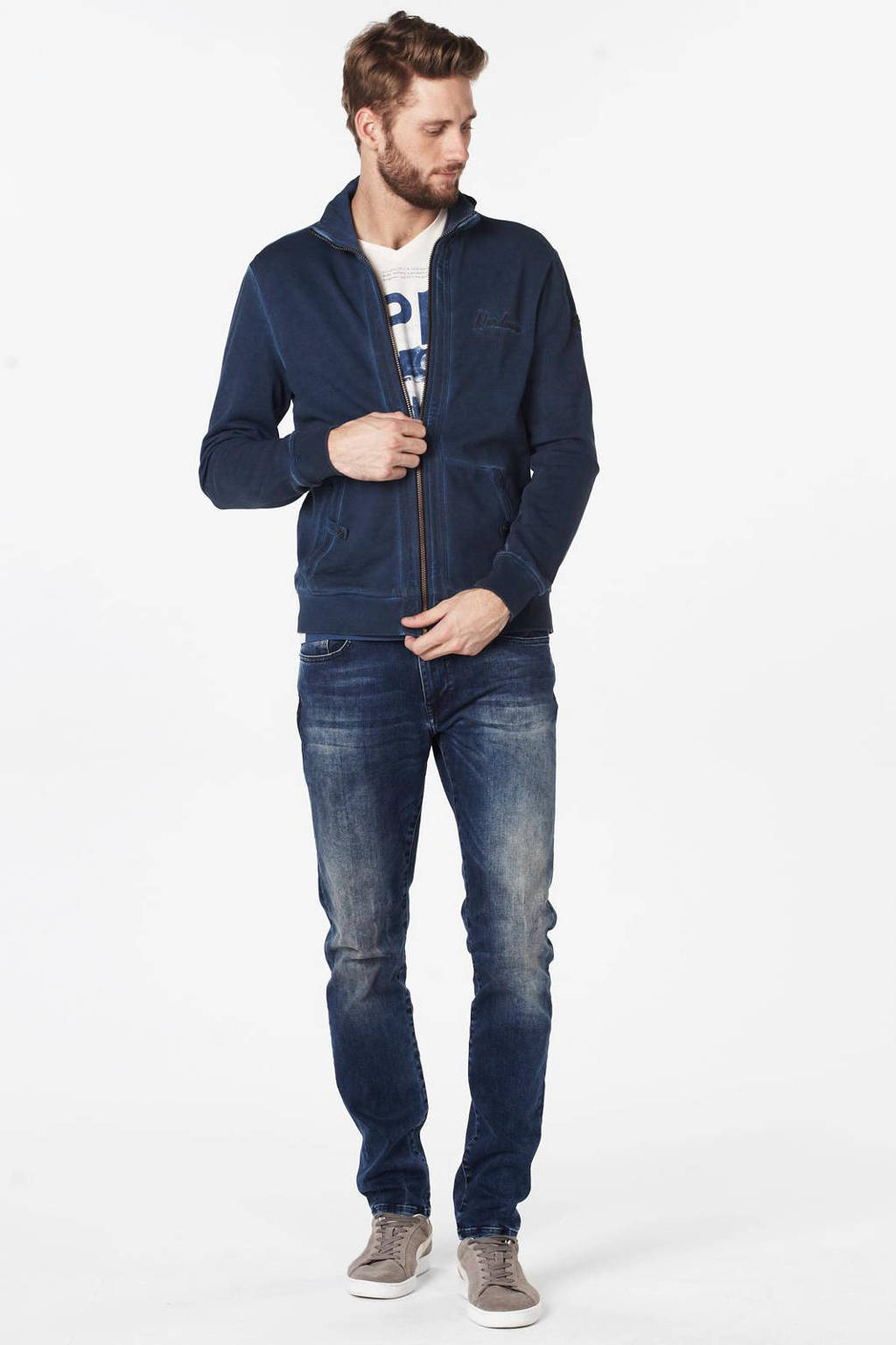 Petrol Industries slim fit superstretch jeans Seaham superstretch, Cloudy sky