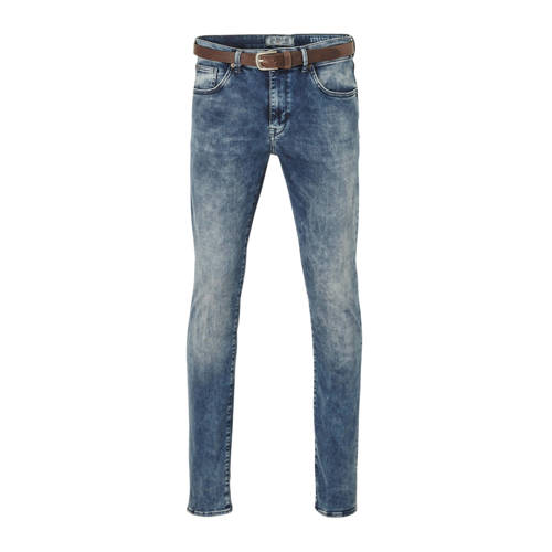 Petrol Industries slim fit jeans Seaham cloudy sky