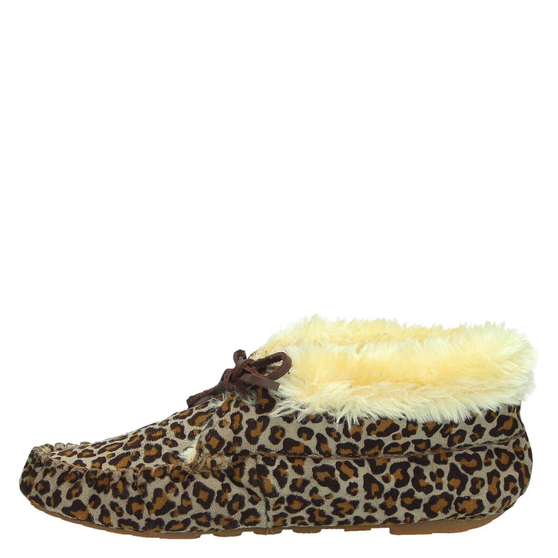 Wonderbaarlijk Ruby Brown pantoffels   wehkamp YK-05