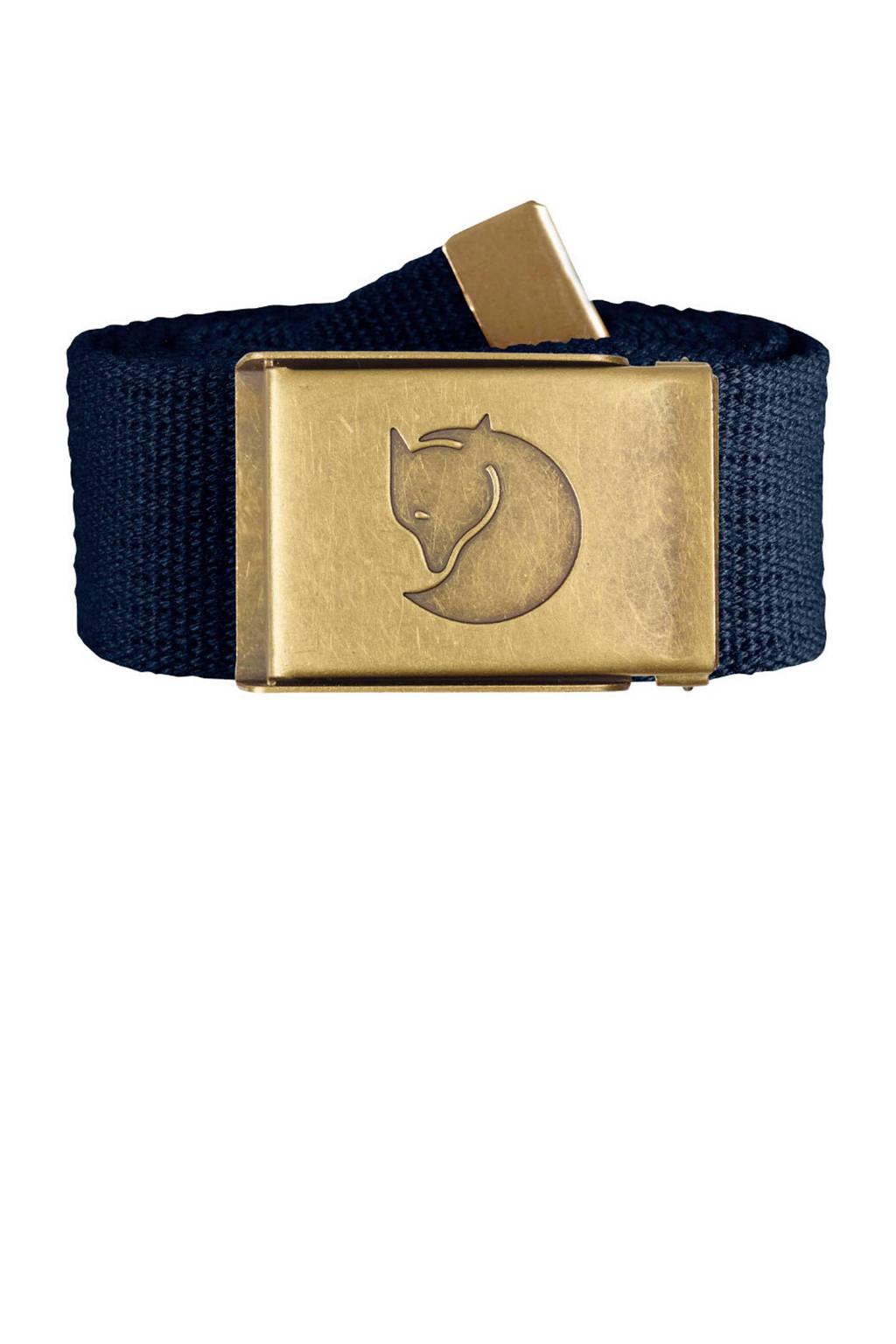 Fjällräven riem Brass Belt donkerblauw, Dark navy