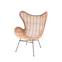 HKliving Rotan Egg fauteuil
