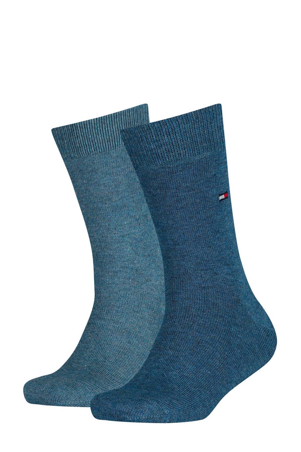 Tommy Hilfiger kinder sokken (2 paar), jeans blue