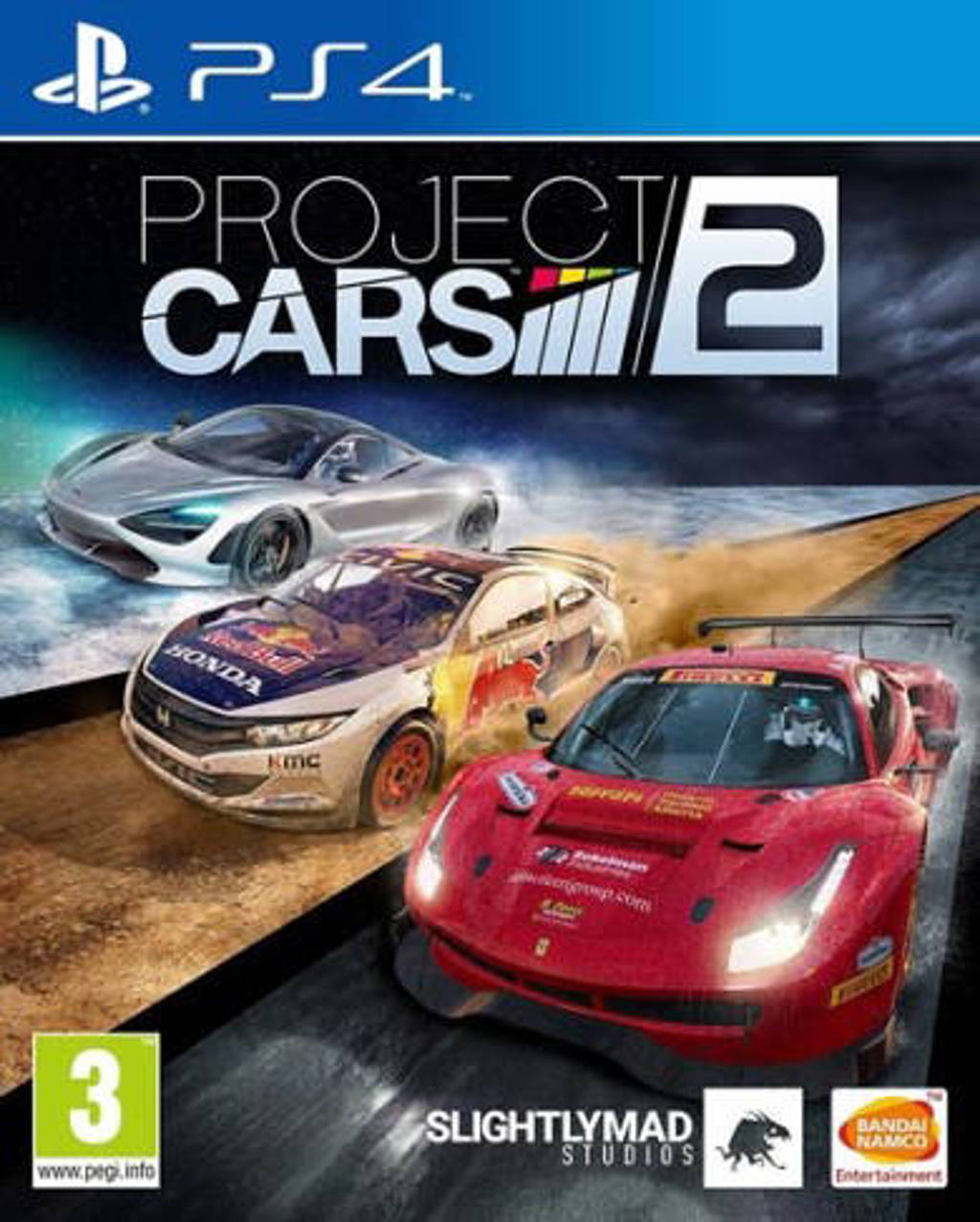 Project cars 2 (PlayStation 4)