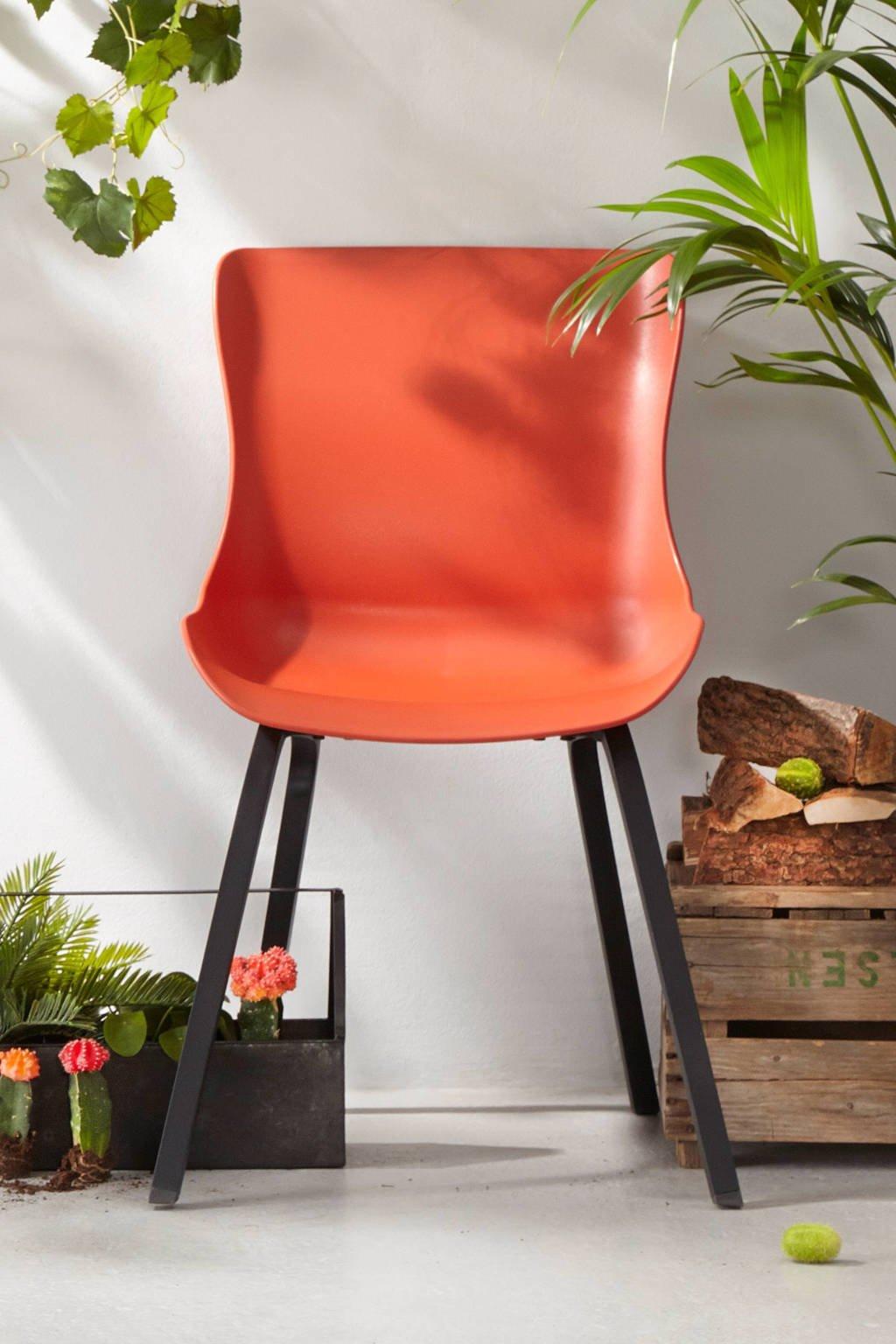 Hartman tuinstoel Sophie Element, Zwart/rood