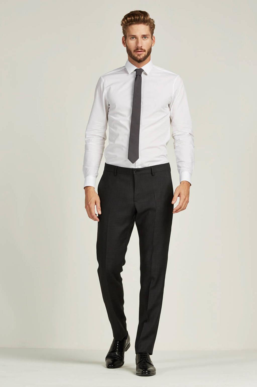 Calvin Klein slim fit overhemd Bari, Wit