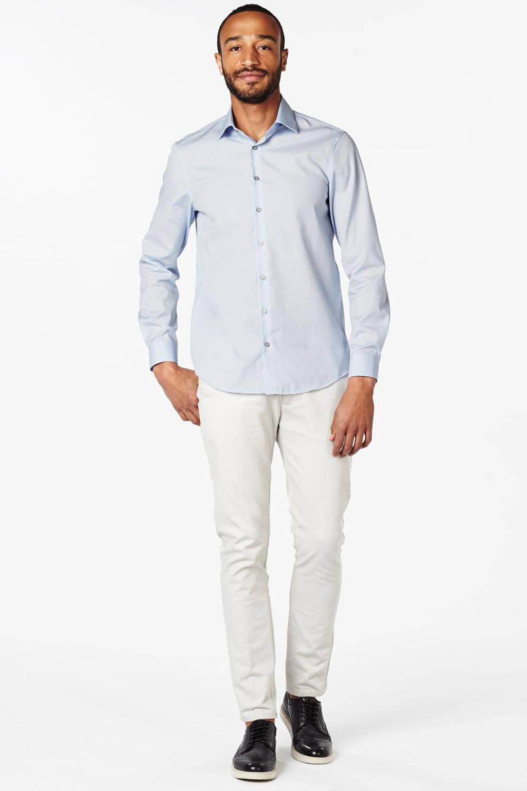 Calvin Klein slim fit overhemd Cannes, Lichtblauw