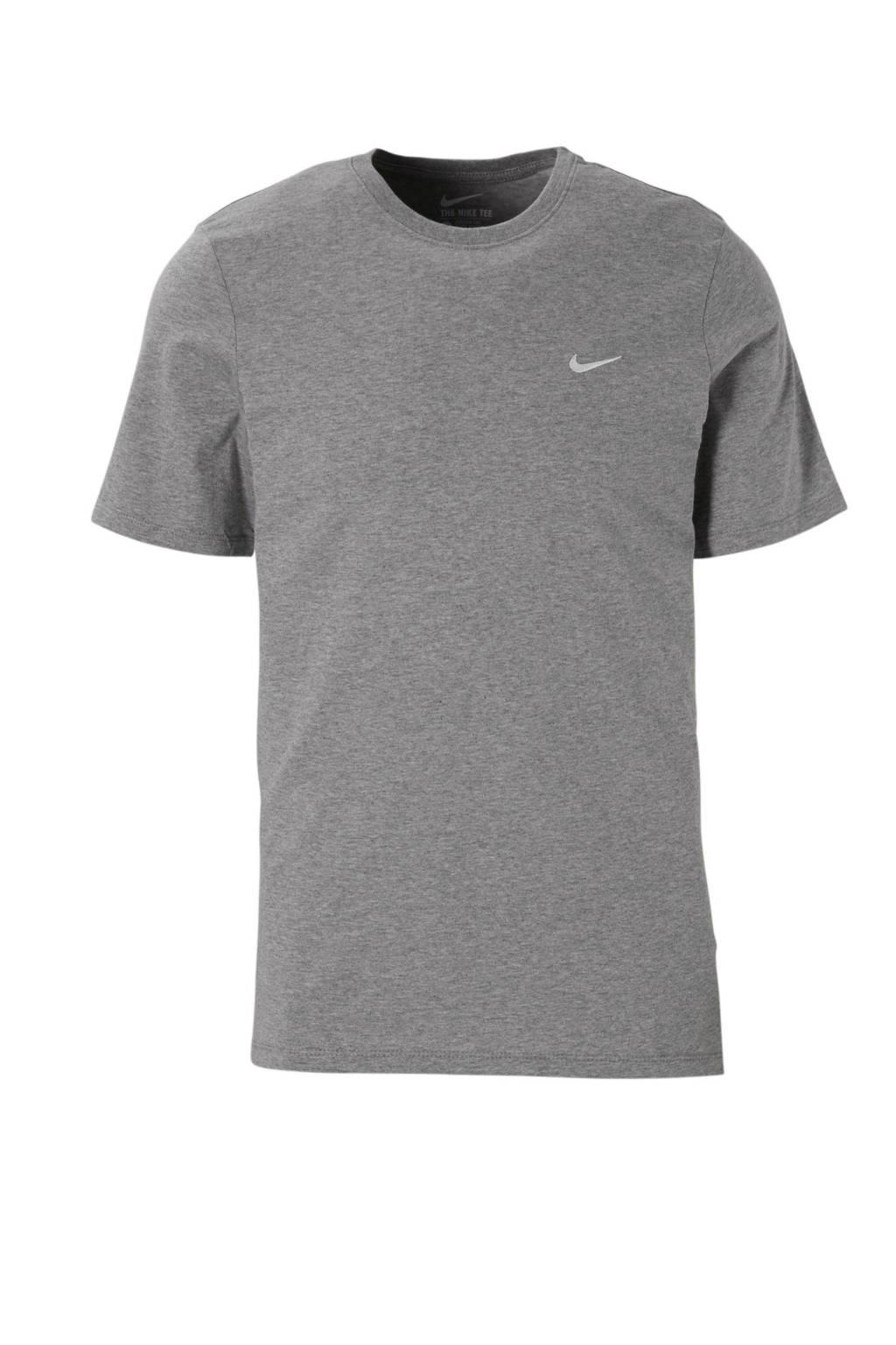 Nike   sport T-shirt, Grijs melange
