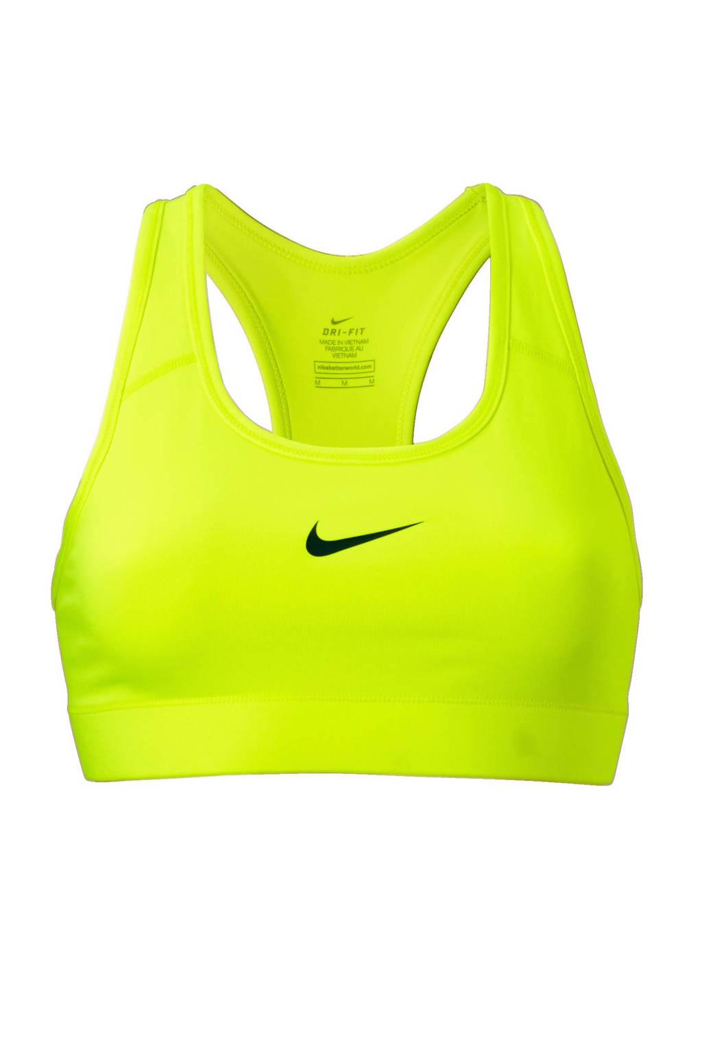 Nike sportbh, Neongeel