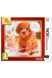 Nintendogs + cats: Poedel en nieuwe vrienden (Nintendo 3DS)