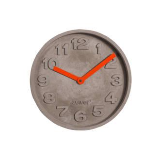 Concrete Time klok (Ø32 cm)
